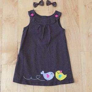 Carter's girl jumper dress 3T 🐥